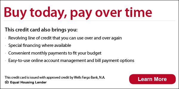 Wells Fargo - Buy Today Pay Over Time